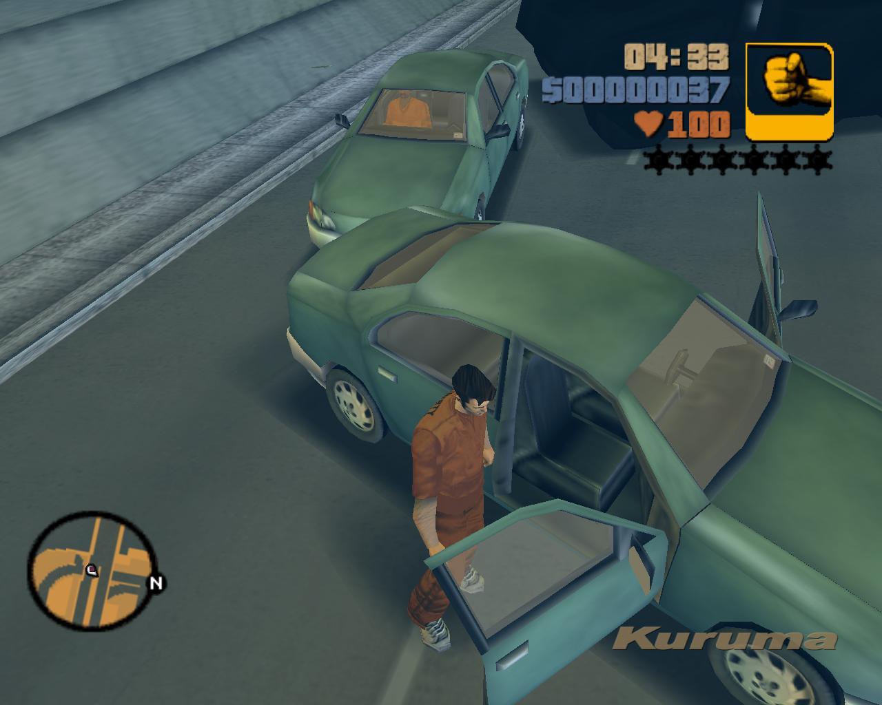 Прикол с Курумой 7 - Grand Theft Auto 3