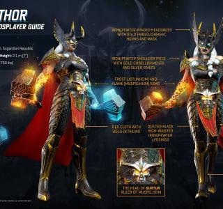 Галерея игры Marvel Realm of Champions