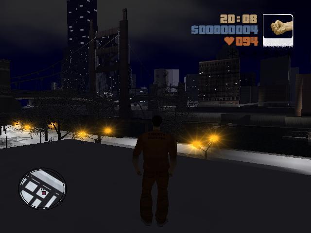 вечер - Grand Theft Auto 3