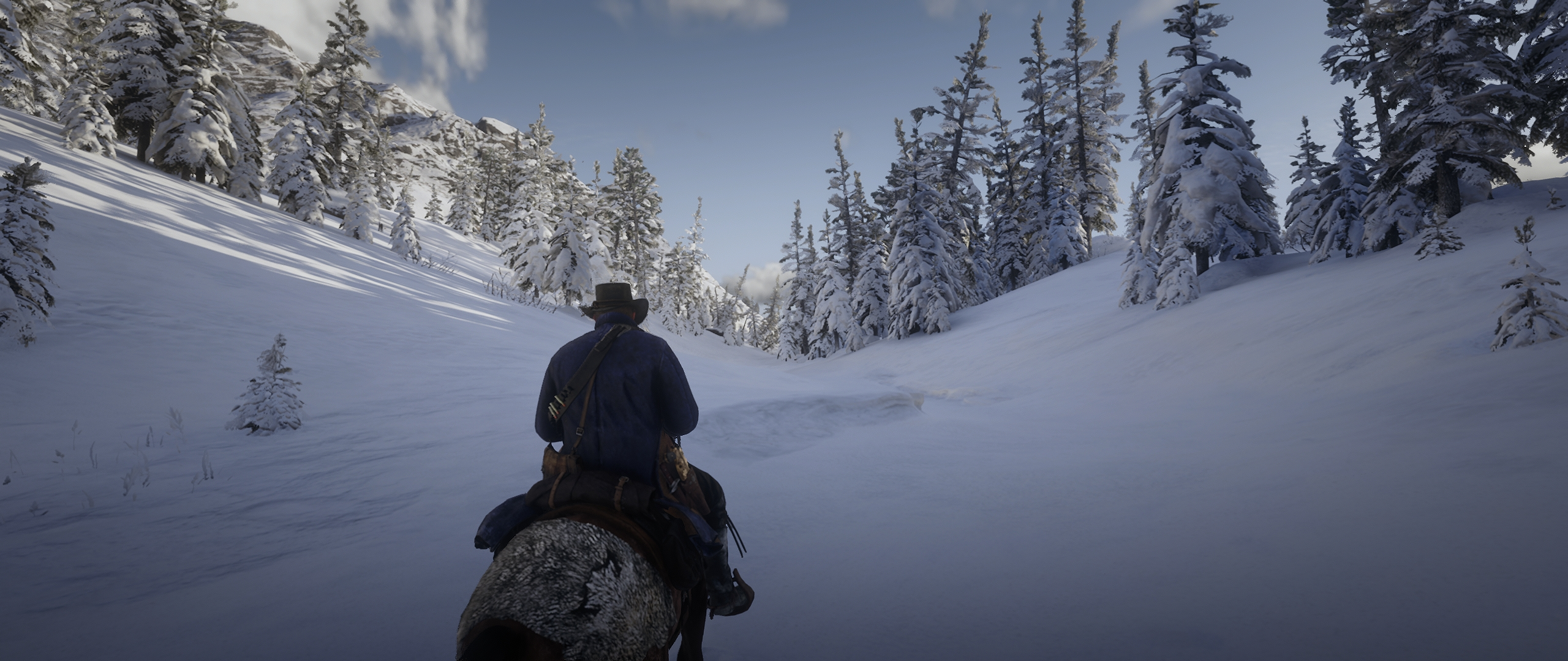 снежок - Red Dead Redemption 2