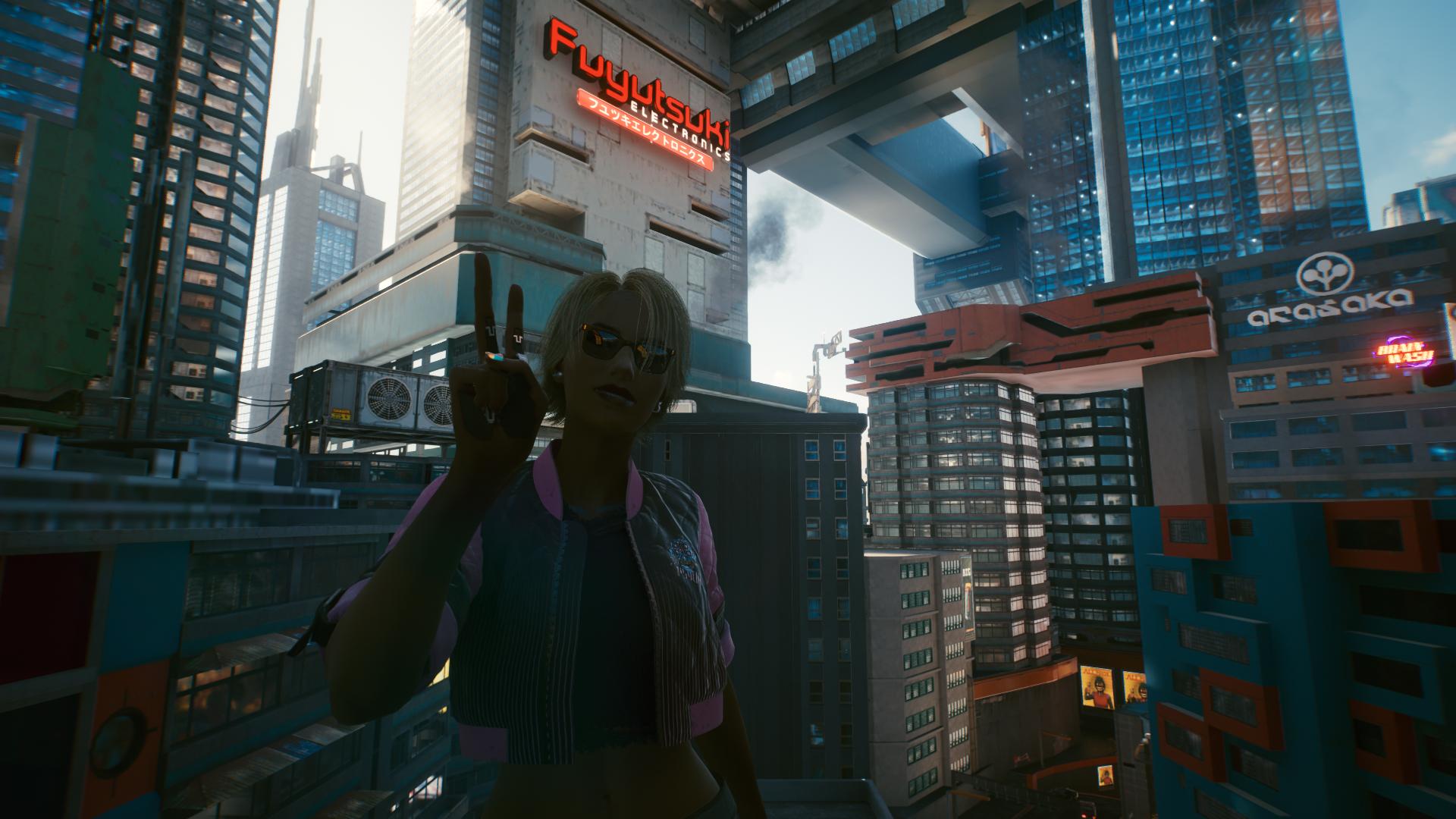 Город мечты - Cyberpunk 2077