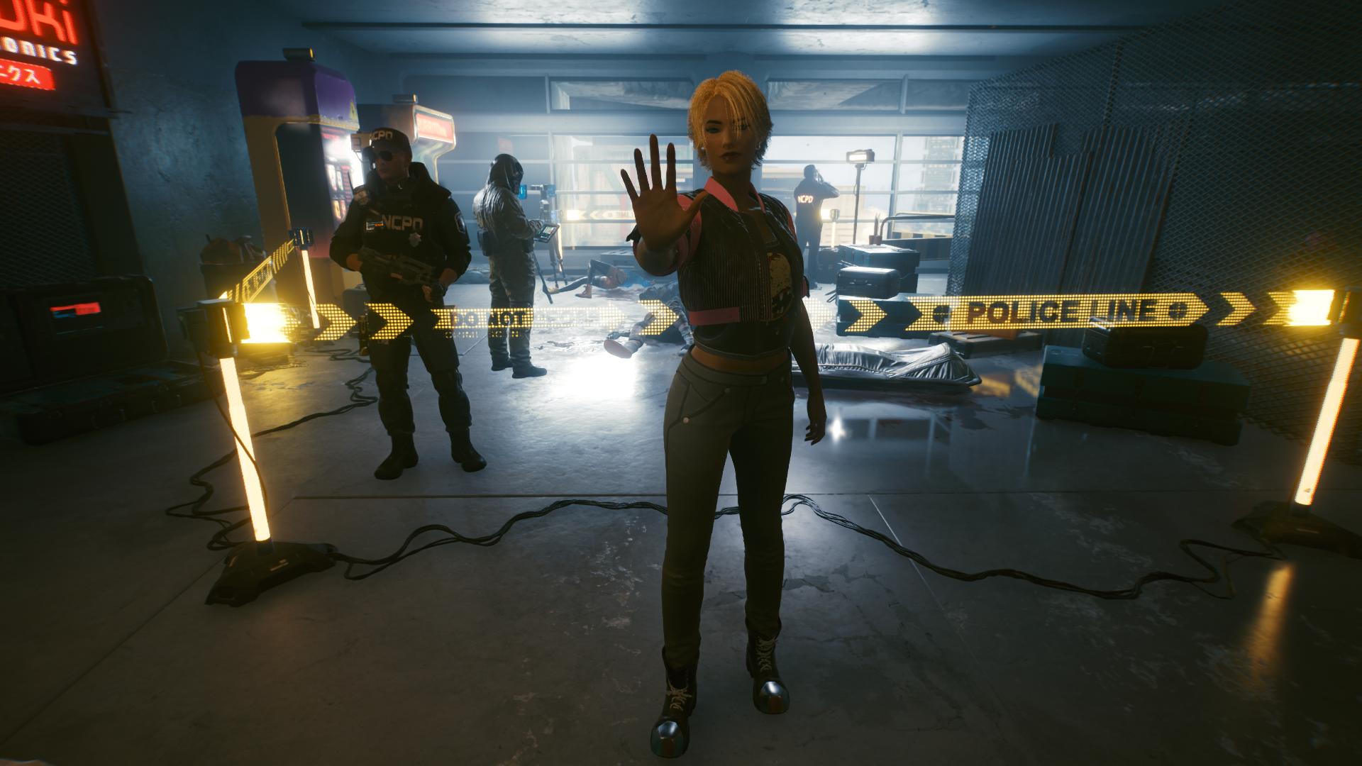 Сюда нельзя! - Cyberpunk 2077