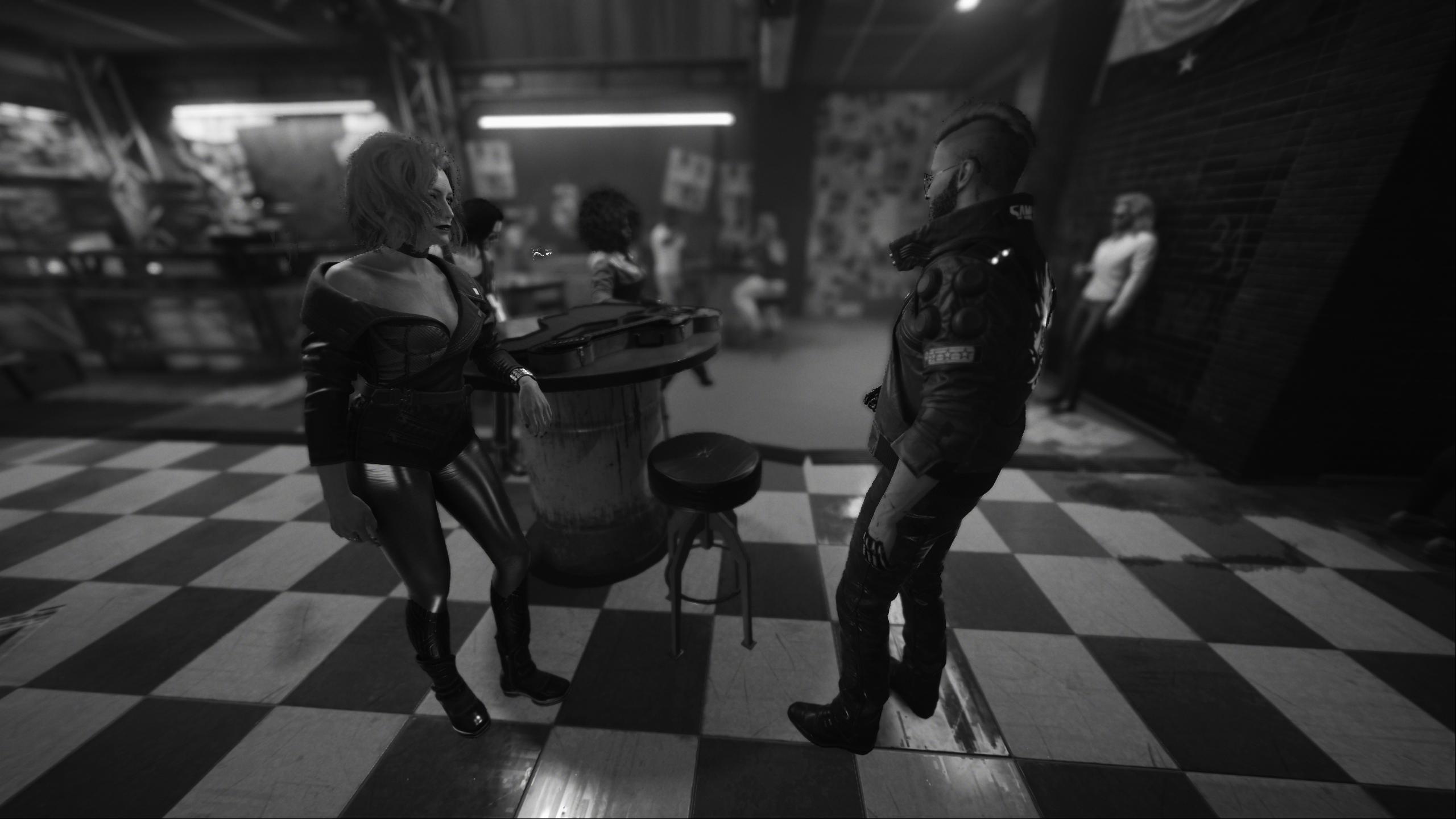Дадим рока в этой дыре - Cyberpunk 2077