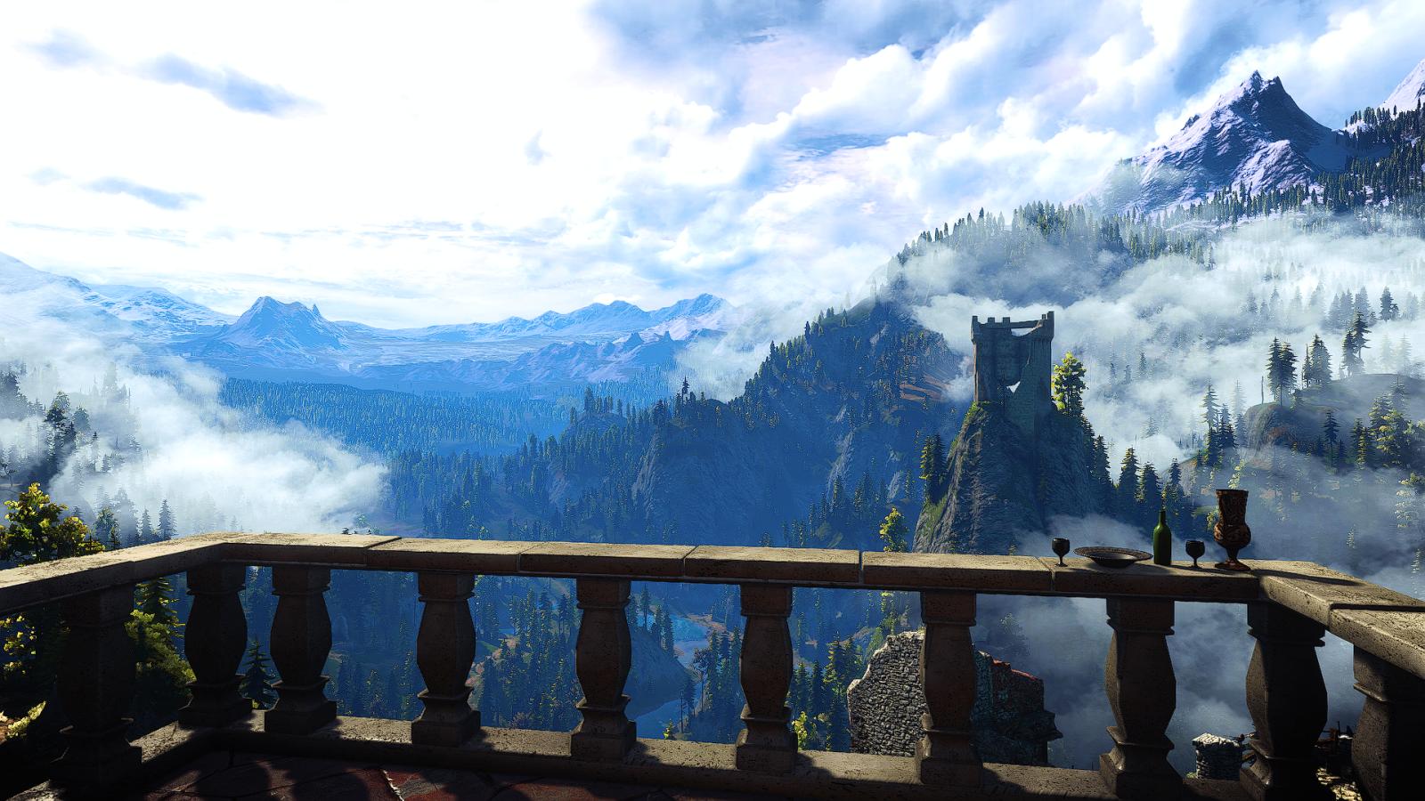 Каэр Морхен - The Witcher 3: Wild Hunt