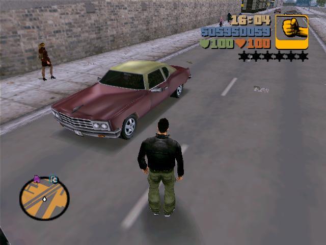 Ярди Лобо выглядит так - Grand Theft Auto 3 Транспорт