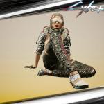 Cyberpunk 2077 Мой персонаж в игре.)