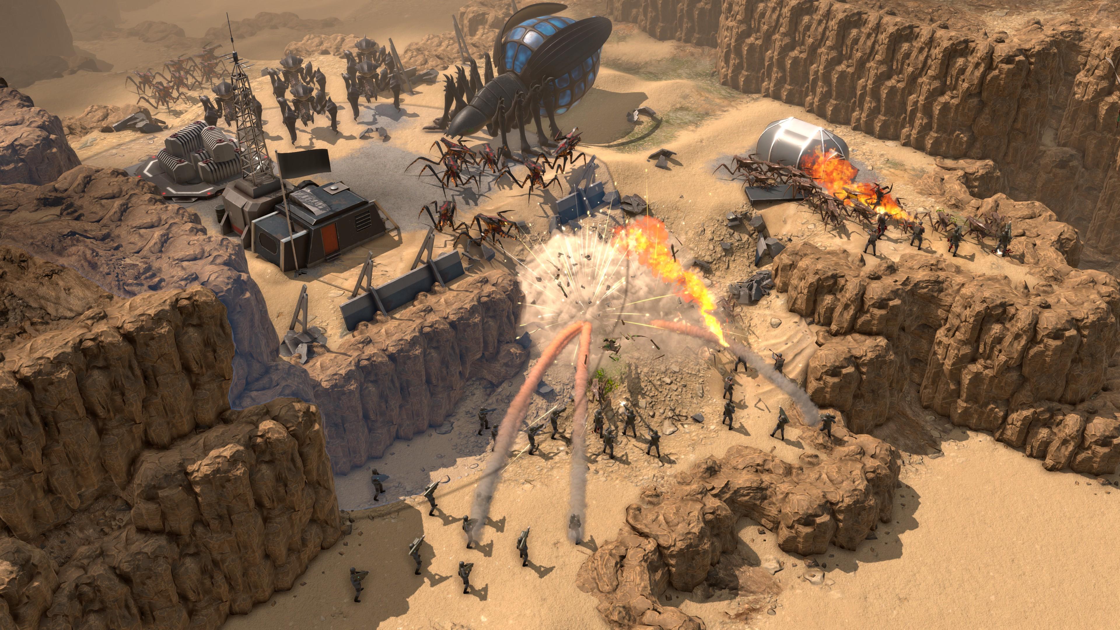 Геймплей - Starship Troopers - Terran Command