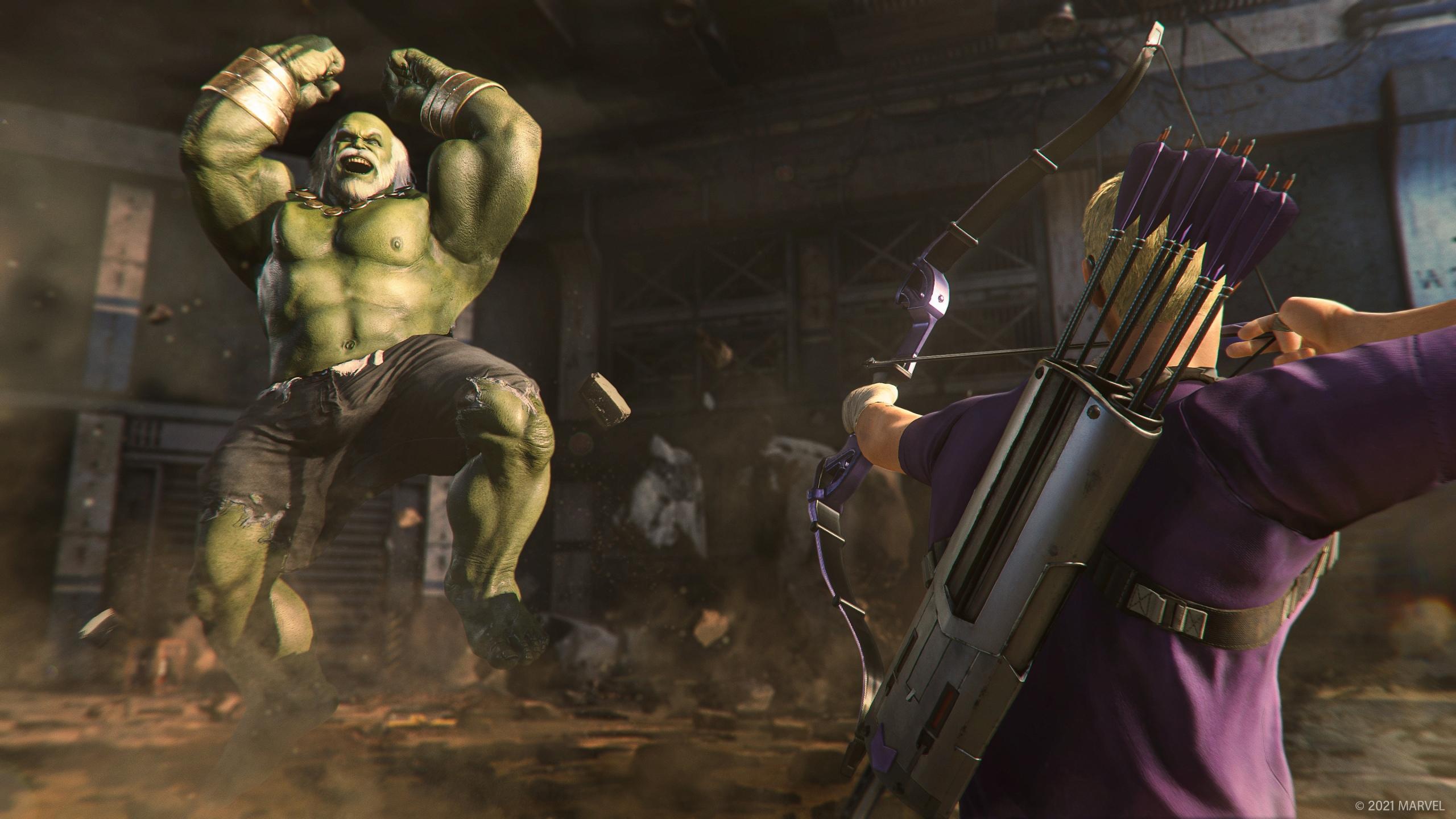 Соколиный глаз - Marvel's Avengers