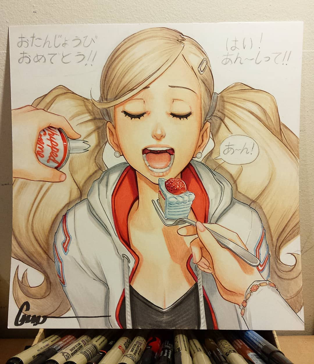 Omar-Dogan-artist-Takamaki-Anne-Persona-5-6376134.jpeg - Persona 5