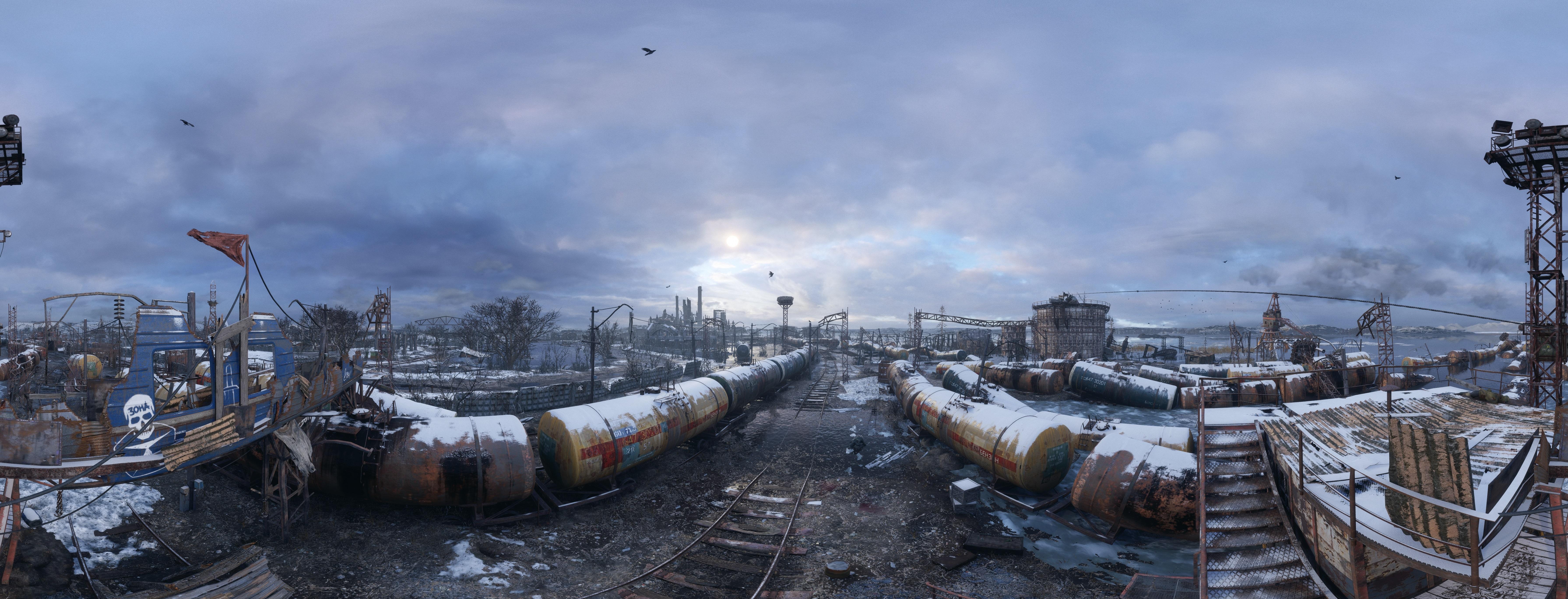 Зима. Волга - Metro Exodus