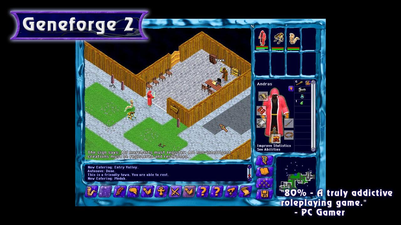 Геймплей - Geneforge 2