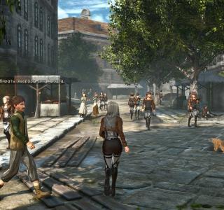 Галерея игры Attack on Titan 2