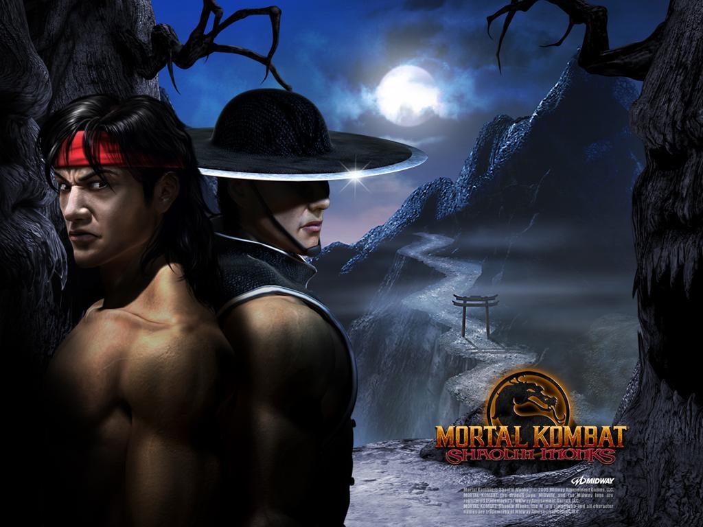 Монахи Шаолиня) - Mortal Kombat (2011) МК