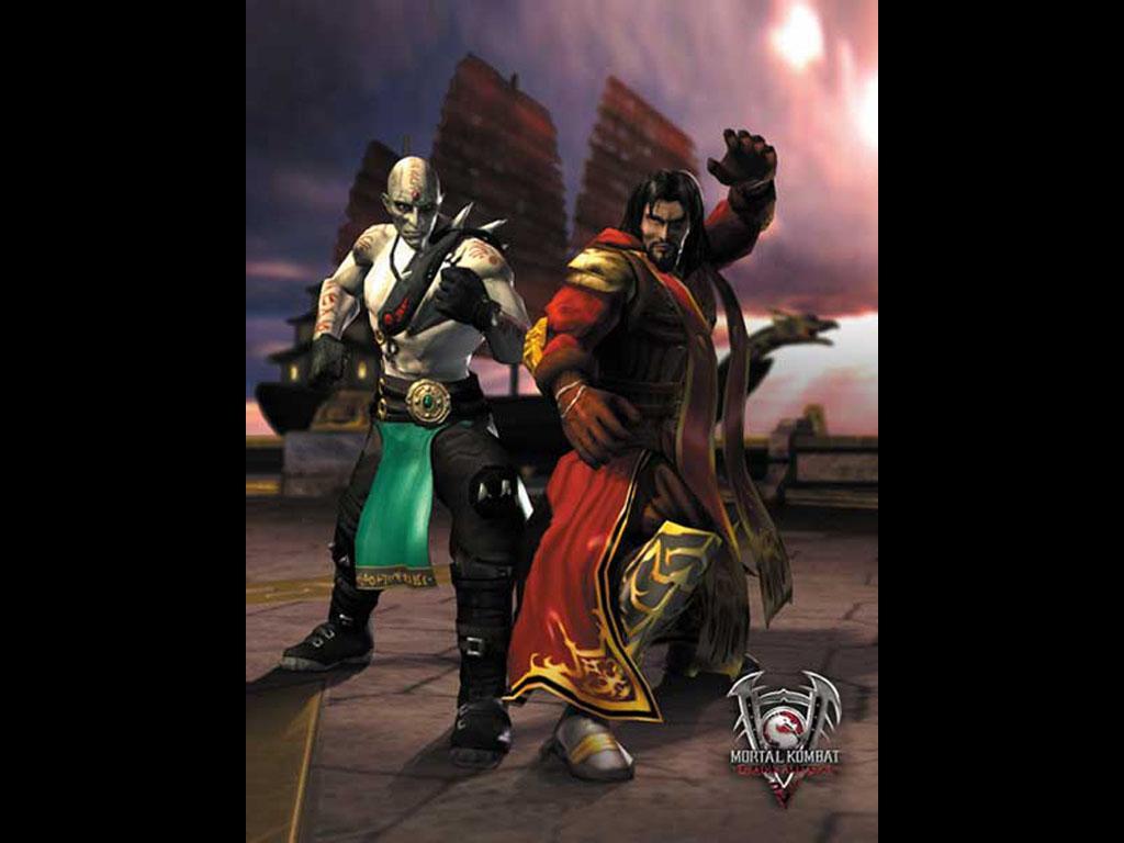 Два ублюдка) - Mortal Kombat (2011) МК