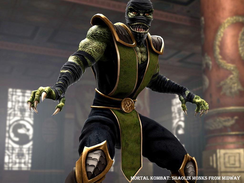 Рэптайл(Ретпилия) - Mortal Kombat (2011) МК