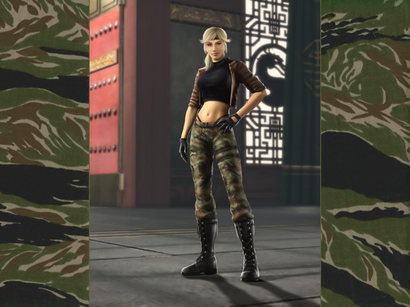 Соня Блэйд - Mortal Kombat (2011) МК