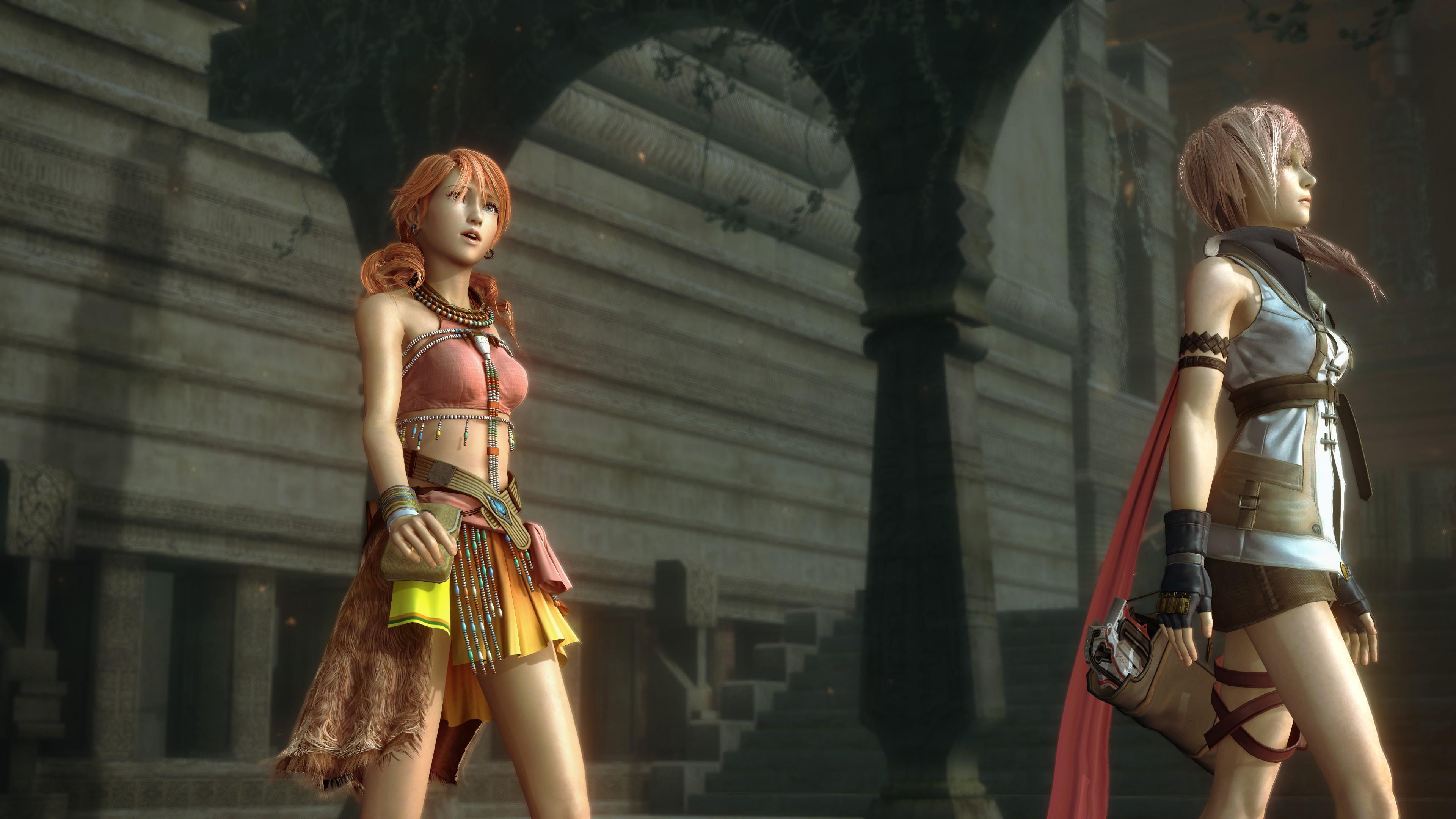 Ваниль и Лайтнинг - Final Fantasy 13
