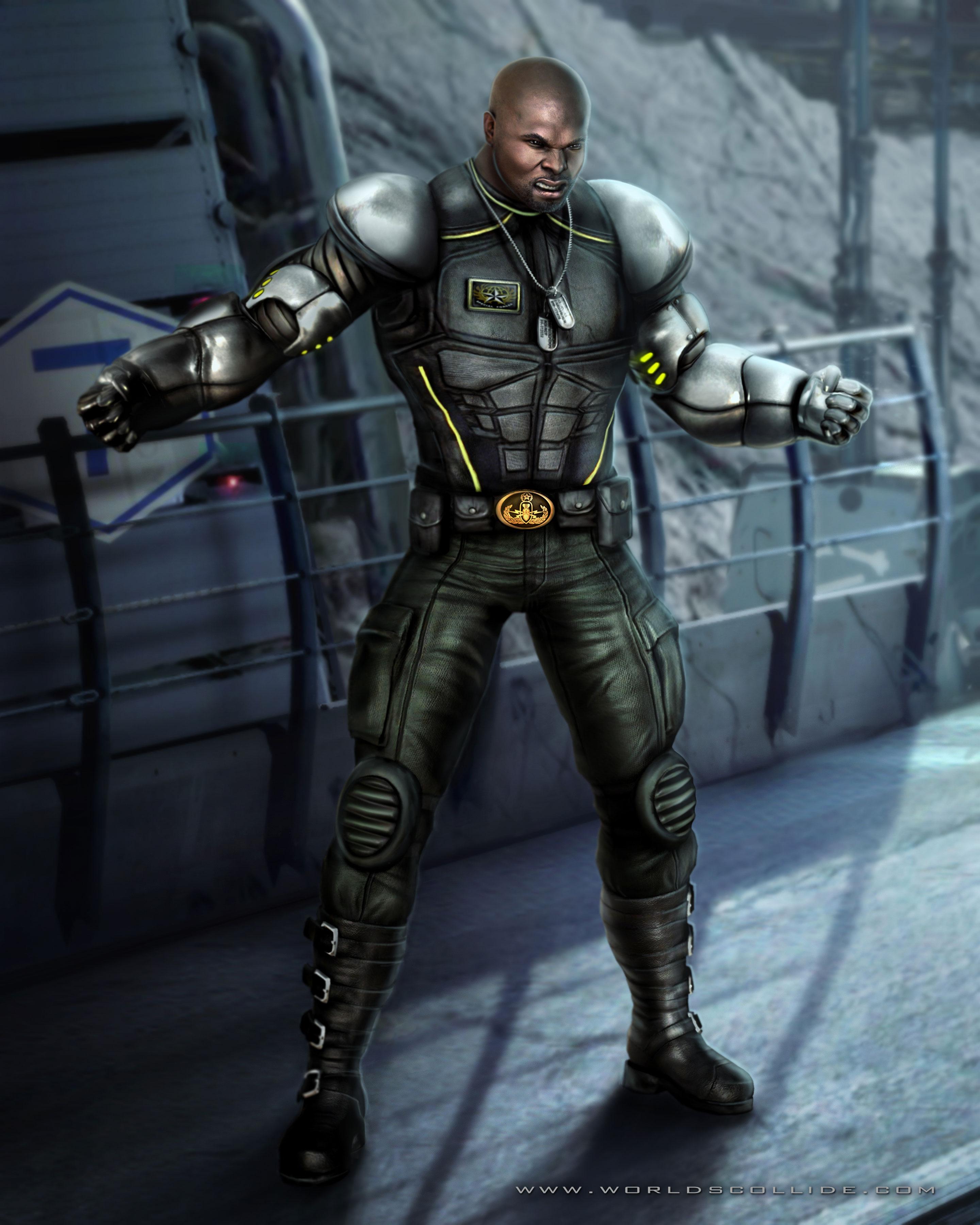 Джакс - Mortal Kombat (2011) МК