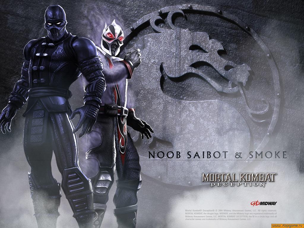 Нуб-Сайбот и Смоук - Mortal Kombat (2011) МК