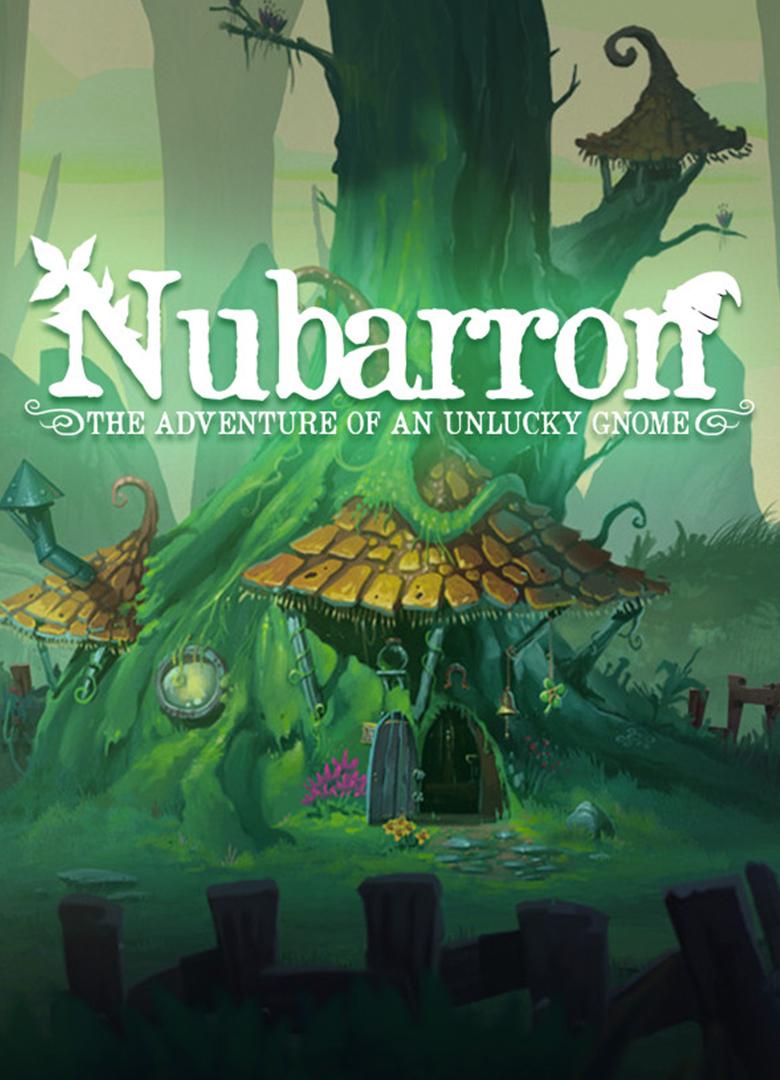 Обложка - Nubarron: The adventure of an unlucky gnome