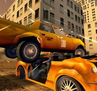 Галерея игры Super Taxi Driver 2006