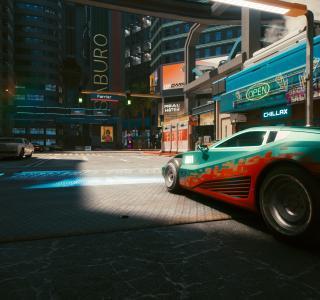 Галерея игры Cyberpunk 2077