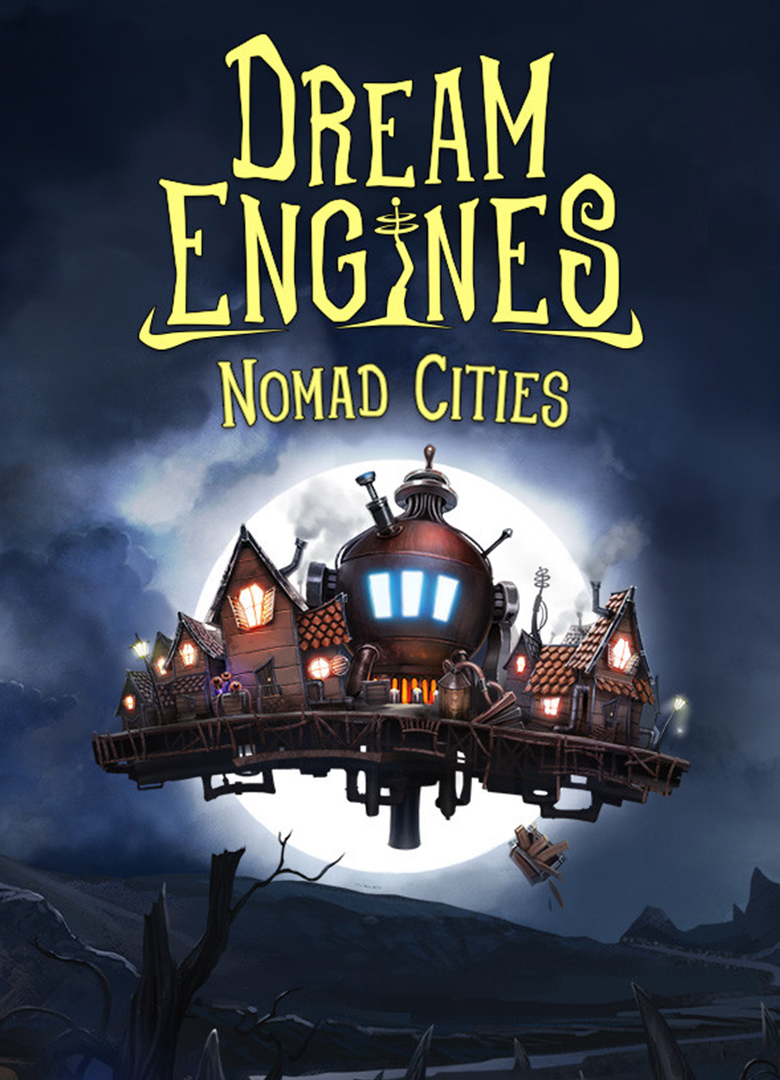 Обложка - Dream Engines: Nomad Cities