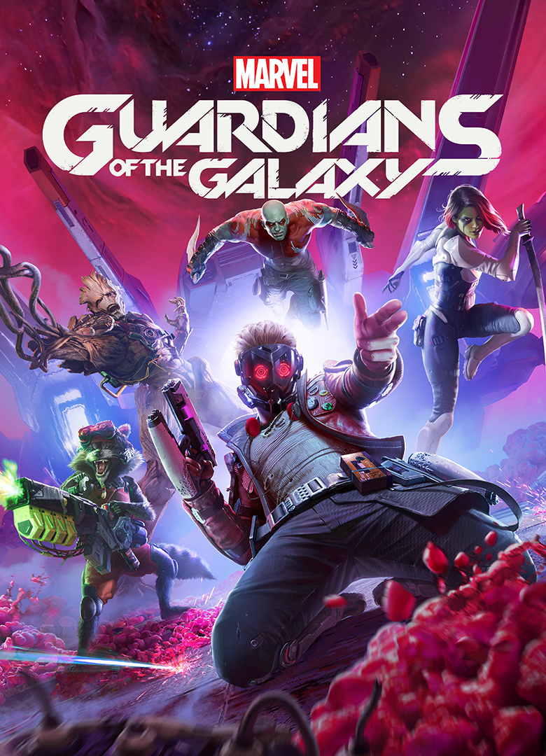 Обложка - Marvel's Guardians of the Galaxy