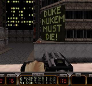 Галерея игры Duke Nukem 3D
