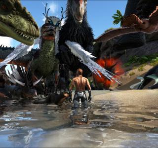 Галерея игры ARK: Survival Evolved