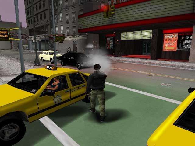 taxi driver woman.jpg - Grand Theft Auto 3