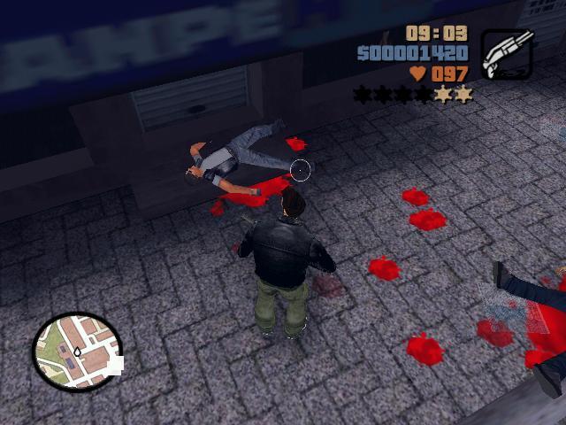 кровякаааа - Grand Theft Auto 3
