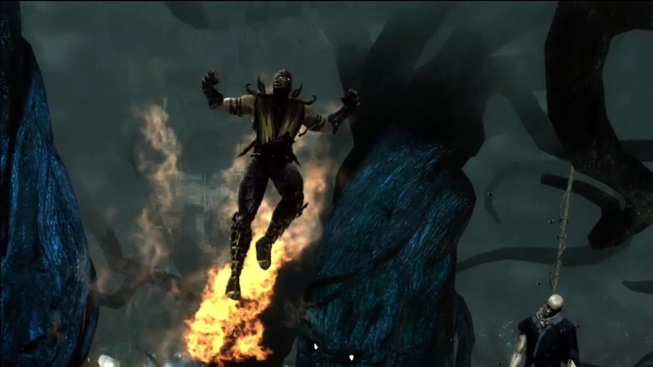 Скрин появления - Mortal Kombat (2011) МК