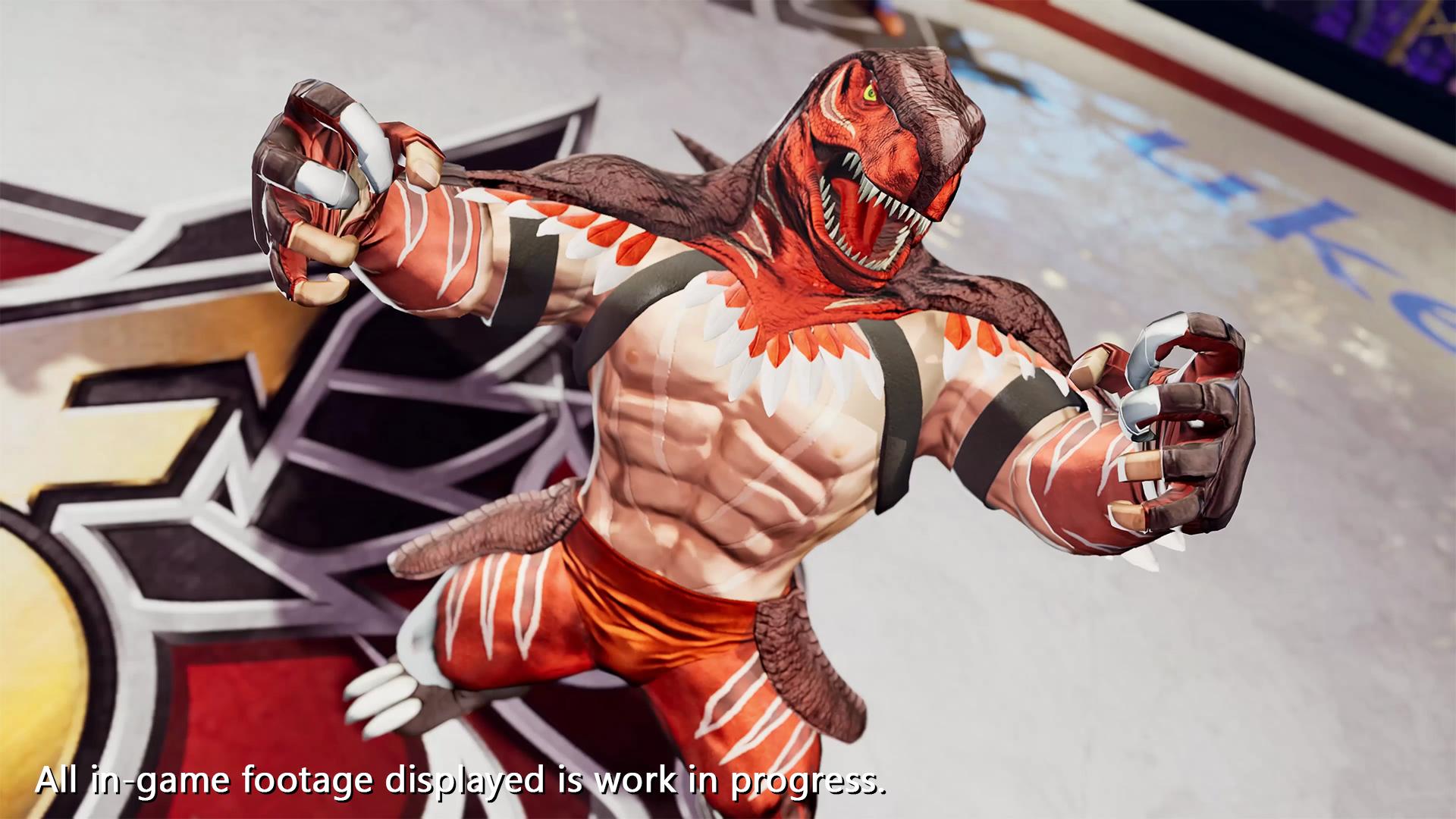 Король Динозавров - The King of Fighters 15