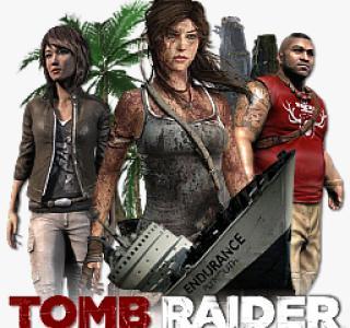 Галерея игры Tomb Raider (2013)
