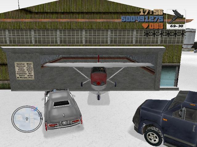 расширенный гараж - Grand Theft Auto 3