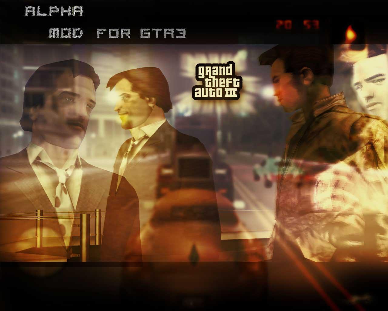 Alpha Mod - Grand Theft Auto 3