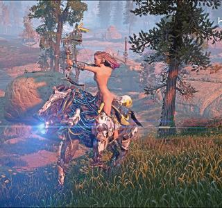 Галерея игры Horizon: Zero Dawn