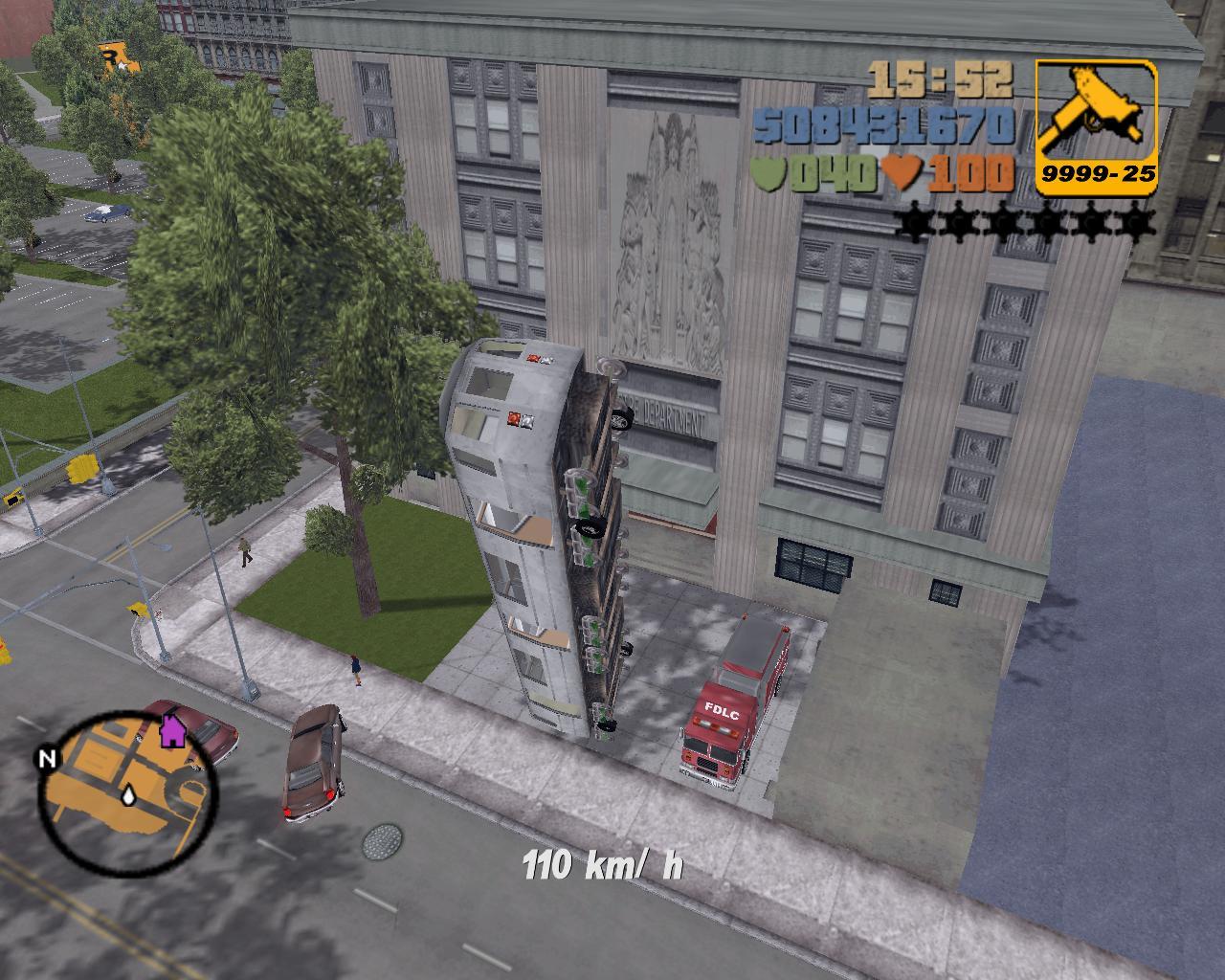 Поезд на колёсах - Grand Theft Auto 3
