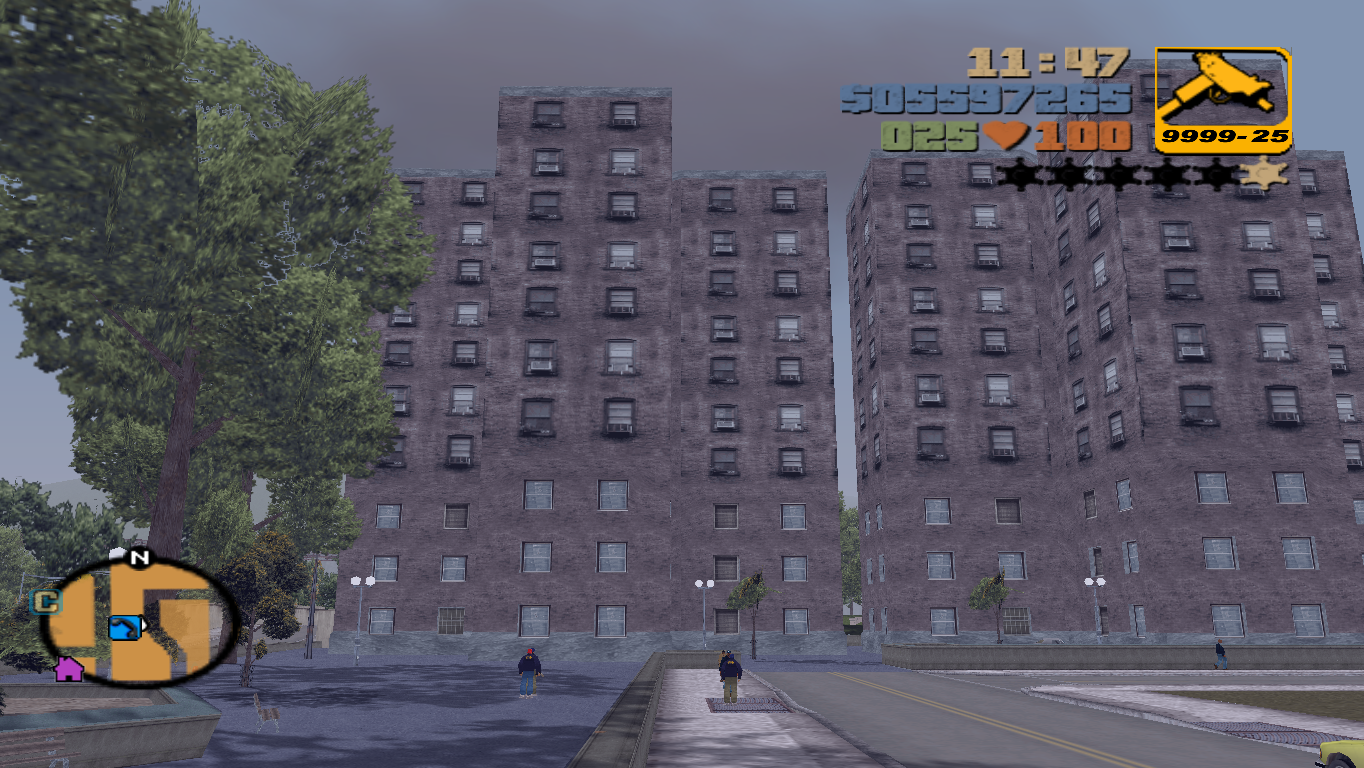 building, Liberty City - Grand Theft Auto 3