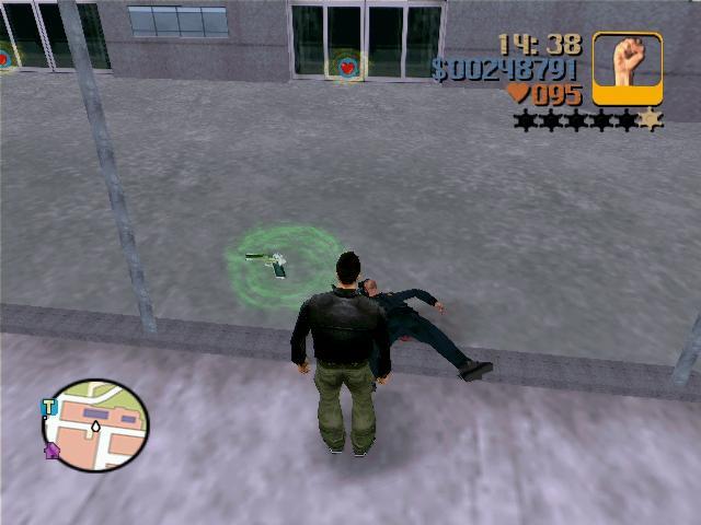 новое освешение значков оружий и так далее - Grand Theft Auto 3