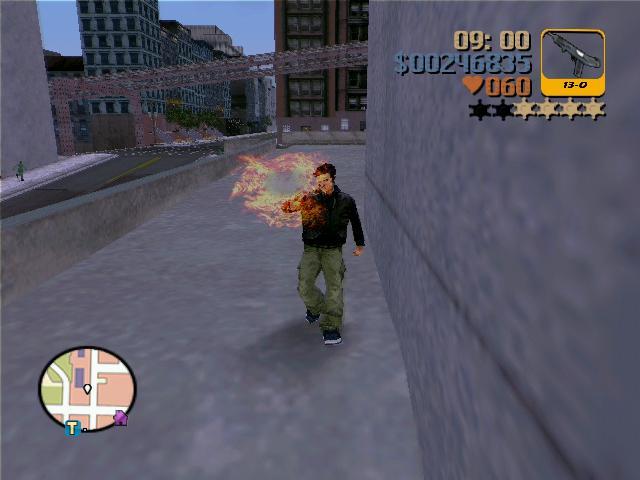 чёткий огонь из оружий - Grand Theft Auto 3
