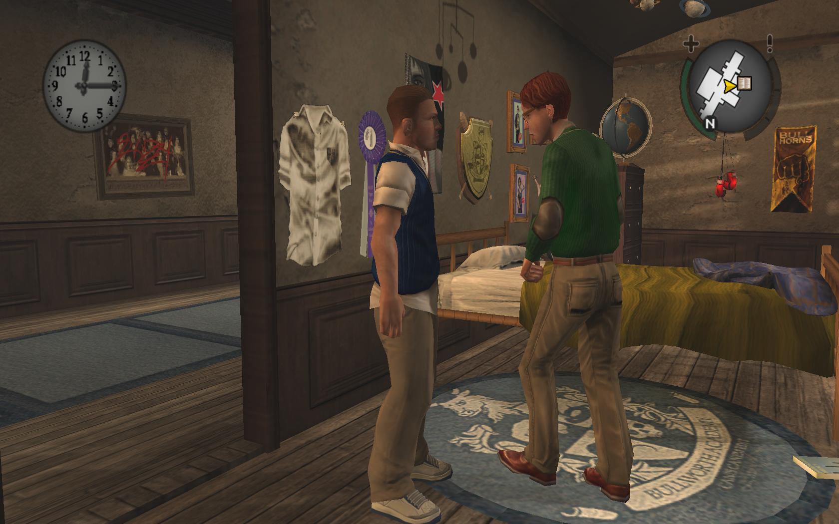 Ты что в моей комнате делаешь? А? - Bully: Scholarship Edition