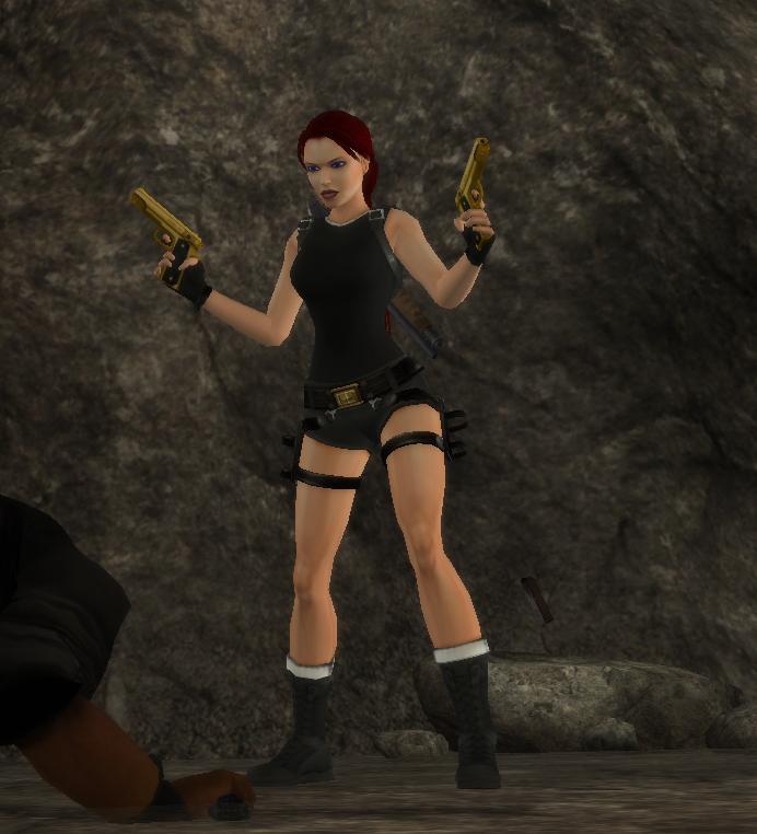 черный костюм - Tomb Raider: Anniversary