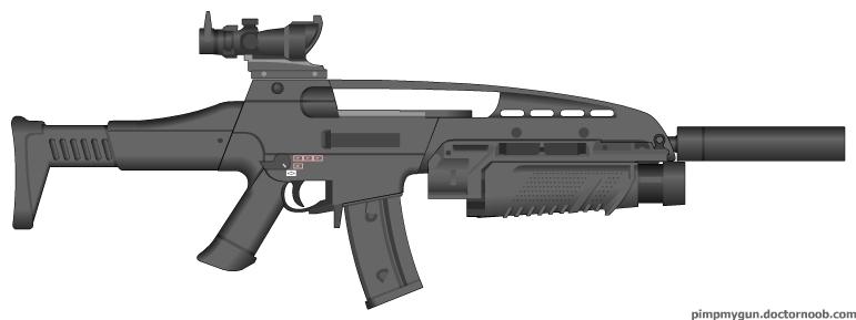 HK XM8 - Call of Duty: Modern Warfare 2