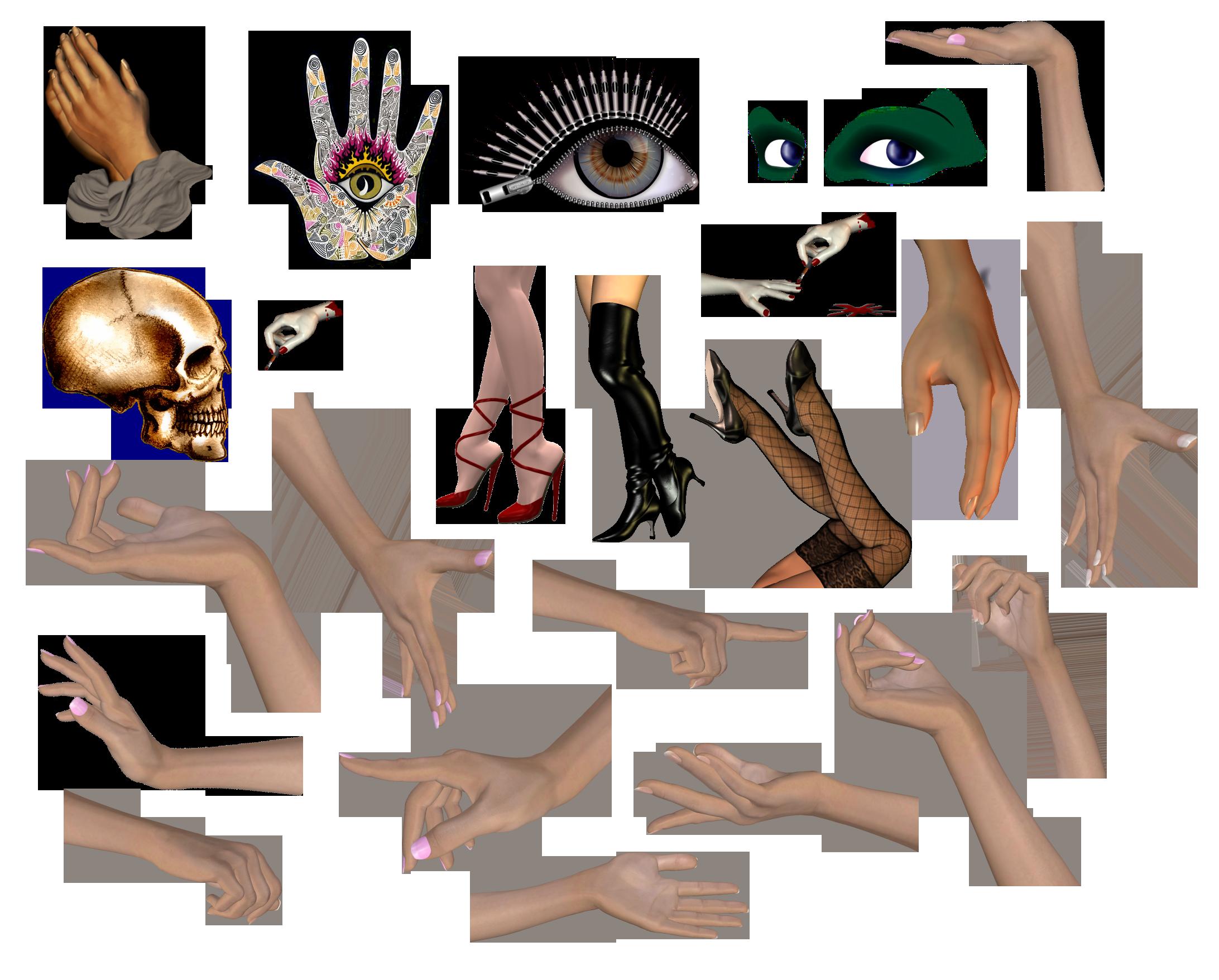 Картинки интересные части тела