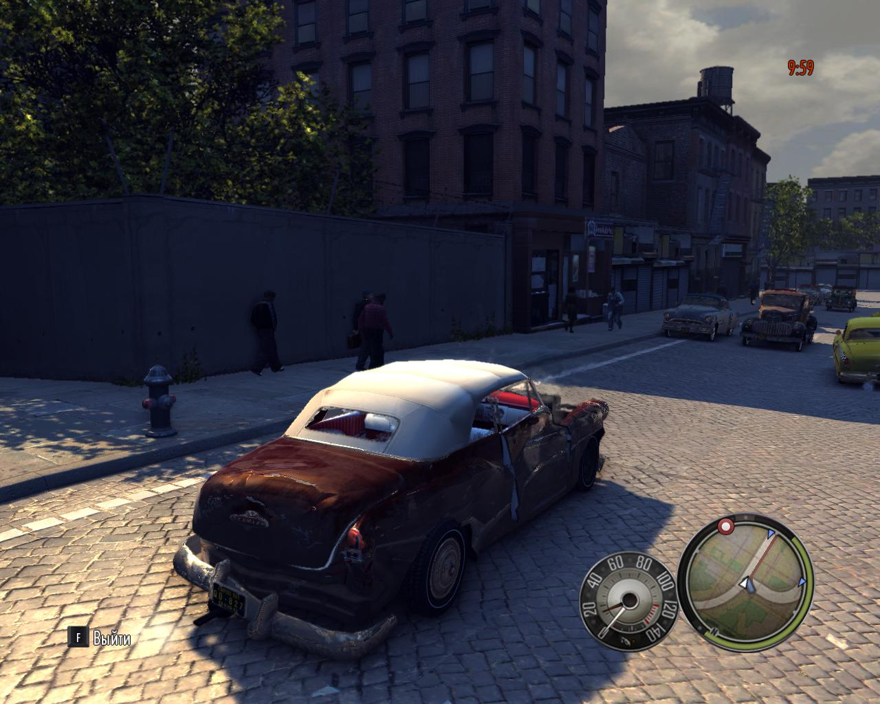 Повреждения Авто 3 - Mafia 2