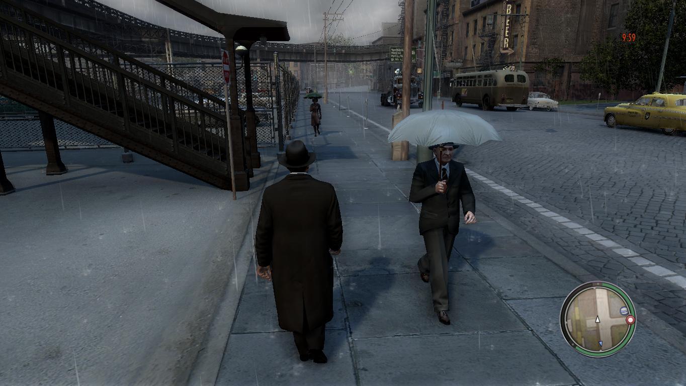 Mafia 2_rain_3 - Mafia 2