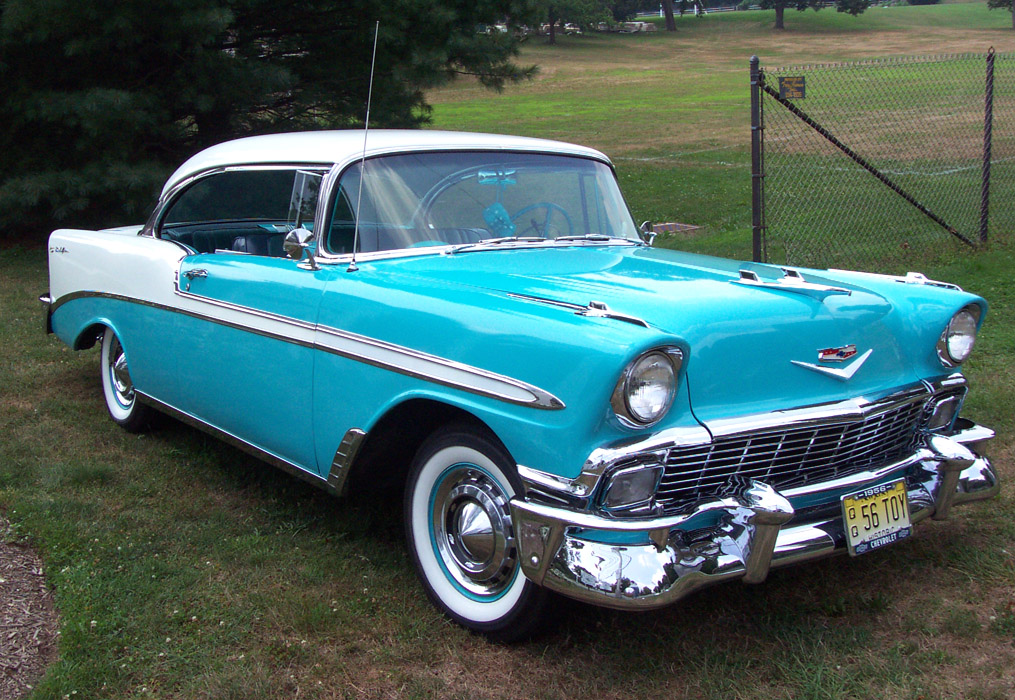 1956 Chevrolet Bel-Air Hardtop Coupe - Mafia 2