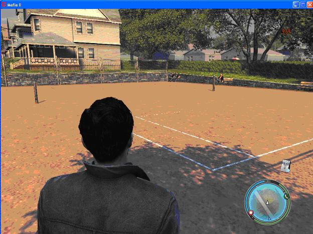 Теннисный корт - Mafia 2 корт в мафии